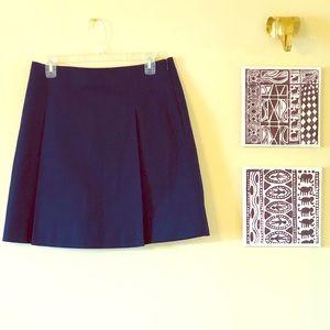[Lauren By Ralph Lauren] Pleated Skirt Navy